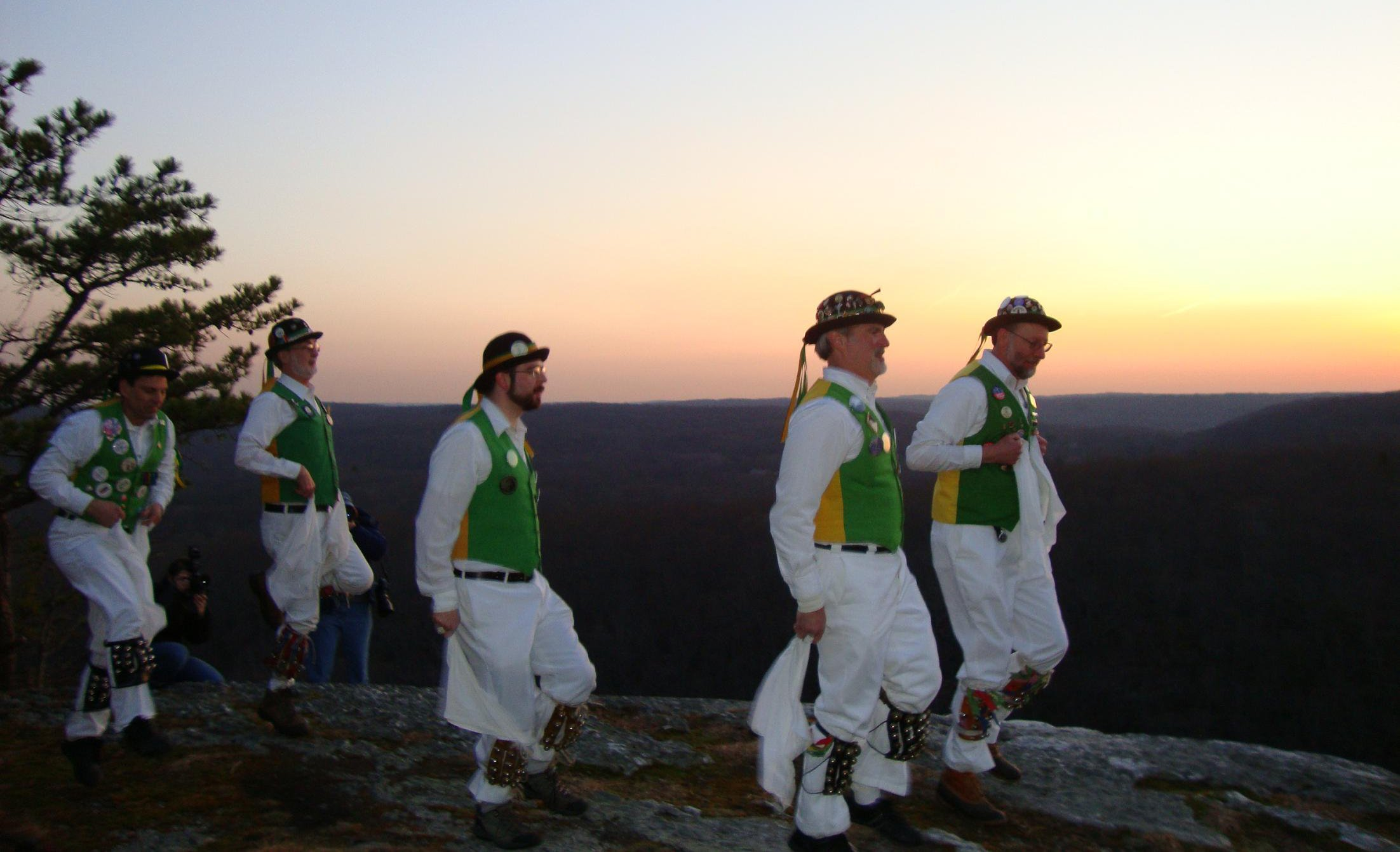 Five dancer set on Lantern Hill