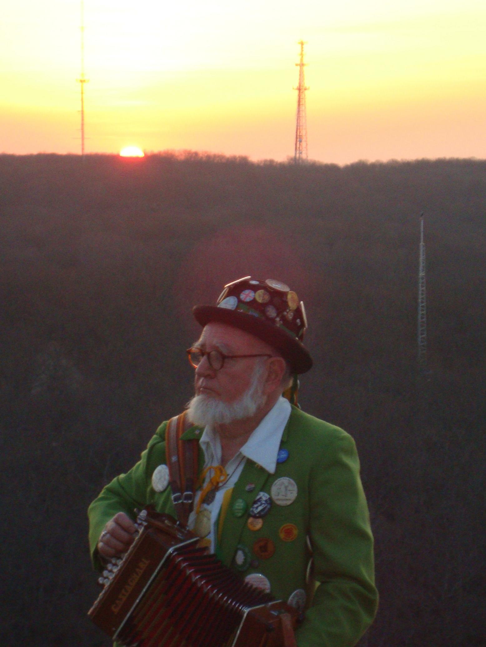 Musician Peter Leibert on Lantern Hill